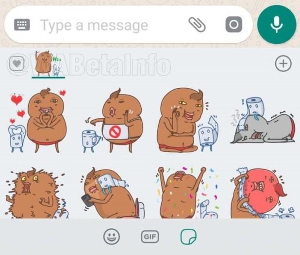 Los nuevos stickers de reacciones que llegarán a WhatsApp.