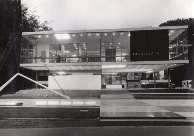 Yugoslavia en el MoMA. La obra del arquitecto croata Vjenceslav Richter para la Expo 58 en Bruselas. Foto: Archivos de Yugoslavia.