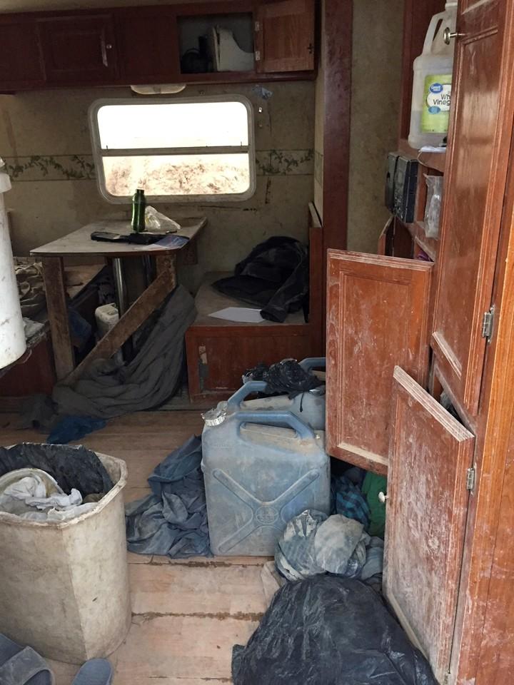 El campamento está ubicado en la pequeña localidad de Amalia, a 233 kilómetros al noreste de Albuquerque, Estados Unidos. AP