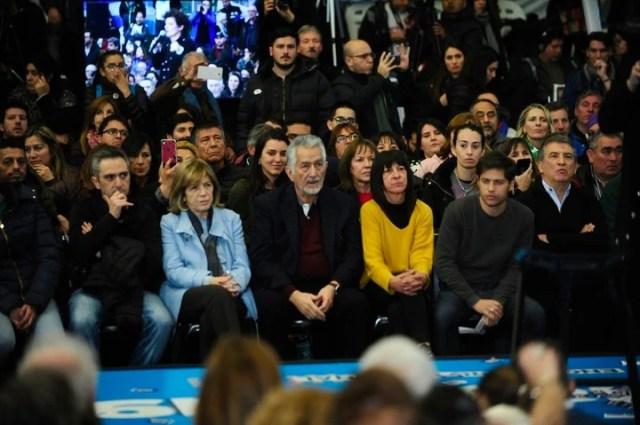 Acto K en Ferro con miras a las elecciones de 2019. Foto Fernando de la Orden.
