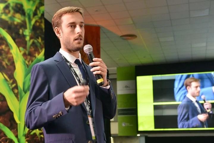 Juan Brihet, Coordinador del Departamento de Investigación y Prospectiva de la Bolsa de Cereales de Buenos Aires.