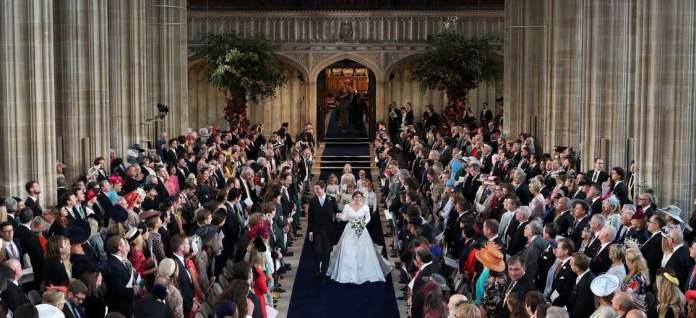 La capilla del castillo de Windsor, colmada (AFP)