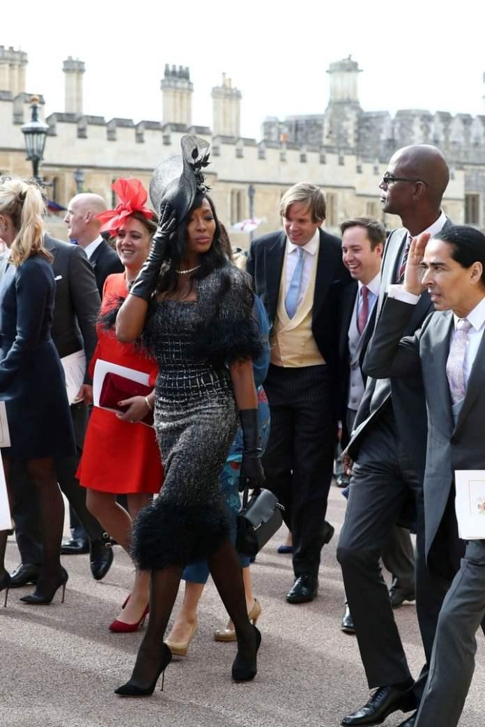 Naomi Campbell, invitada a la boda (AFP)