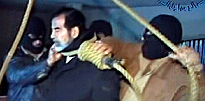 Saddam Husseinein: The timing of the Iraqi leader's execution on December 30, 2006