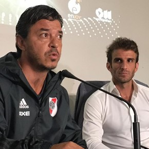 """Marcelo Gallardo: """"Lo que pasó, no lo va a borrar nadie"""""""