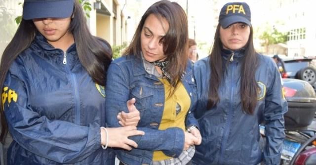 La detención de la viuda de Daniel Muñoz, Carolina Pochetti.