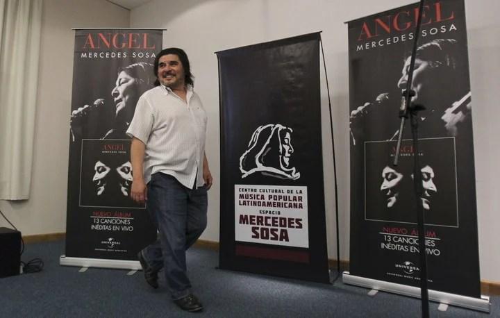 """En 2014, Matus presentó el disco """"Ángel"""", que contiene quince canciones recuperadas por su él de entre los archivos personales de la artista. (Foto: EFE/David Fernández)"""