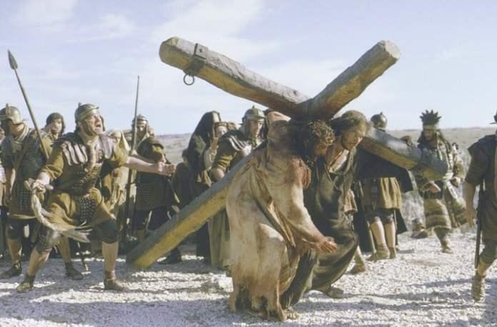 El Cristo de Mel Gibson rumbo a la Cruz (Archivo).