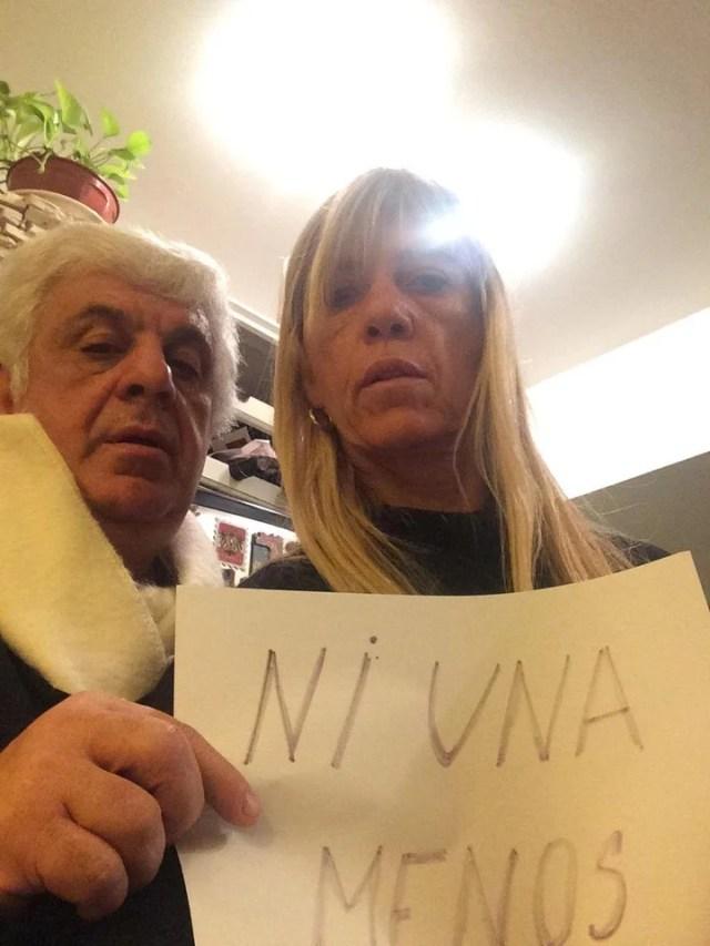 Alberto Samid y su esposa Marisa Scarafia.