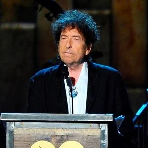 Are auctioned off three manuscripts of Bob Dylan in six-figure salaries