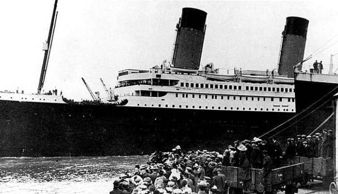 El Titanic en el puerto de Southampton, en Inglaterra. Foto/ archivo