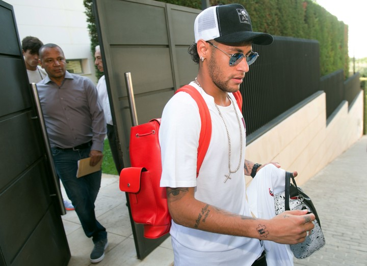 Neymar, one of the beneficiaries of the XCheck system.  AFP photo