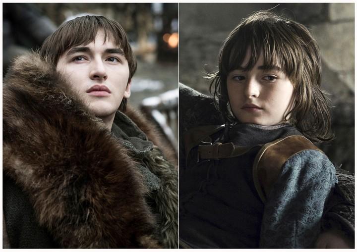 "Isaac Hempstead Wright como Brandon ""Bran"" Stark en Game of Thrones. (HBO via AP)"