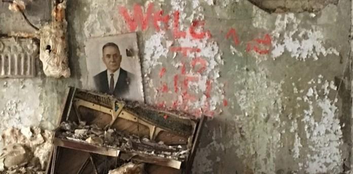 """Prípiat fue construida en 1970 como un """"atomogrado"""", es decir, una ciudad para albergar a los ingenieros, físicos y técnicos que debían construir una planta atómica, en este caso, la de Chernobyl. /  Fotos Pablo Salvatori"""