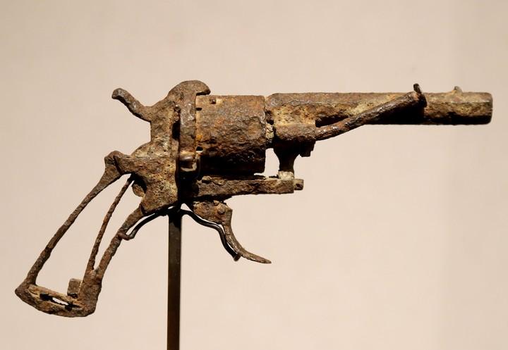 El calibre del revólver, de 7 mm, se corresponde con el de la bala encontrada en el cuerpo de Van Gogh (AFP).