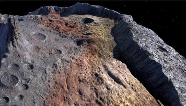 El asteroide contiene suficientes metales pesados (por ejemplo oro, hierro y níquel) como para que cada habitante de nuestro planeta reciba un billón de dólares.