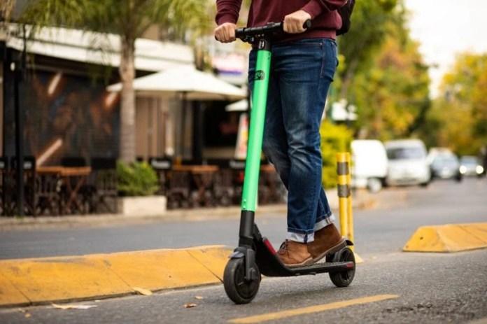 Micromovilidad. Los scooters eléctricos son una alternativa para distancias cortas en las grandes ciudades.