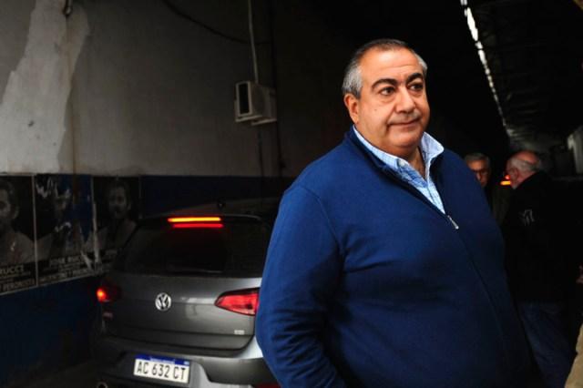 Héctor Daer, co secretario general de la CGT. Apoya la candidatura de Alberto Fernández.