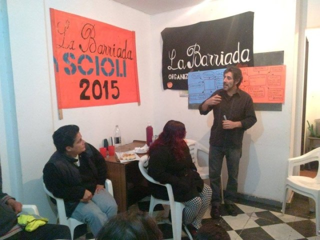 Claudio Turi, militante kirchnerista que insultó a Macri en Córdoba.