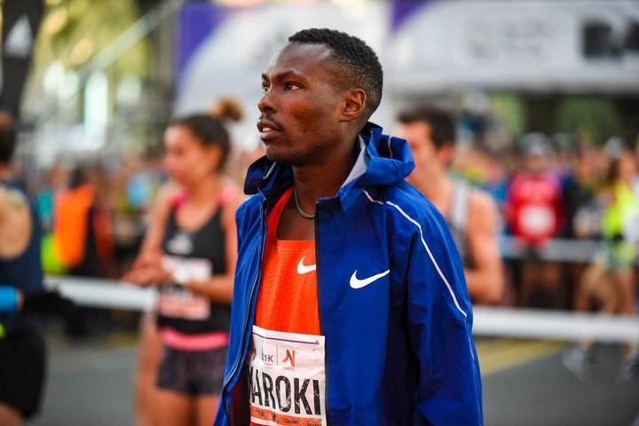 Bedran Karoki, figura keniata que correrá los 21K de Buenos Aires.