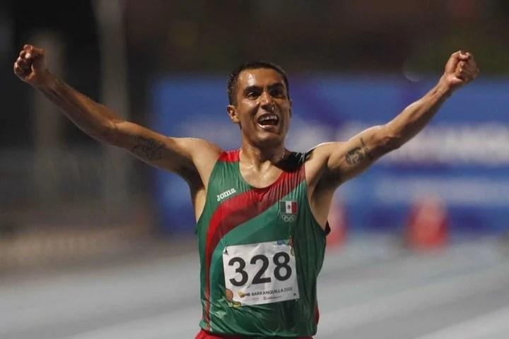 El mexicano Juan Luis Barrios, una de las figuras que correrá los 21K de Buenos Aires.