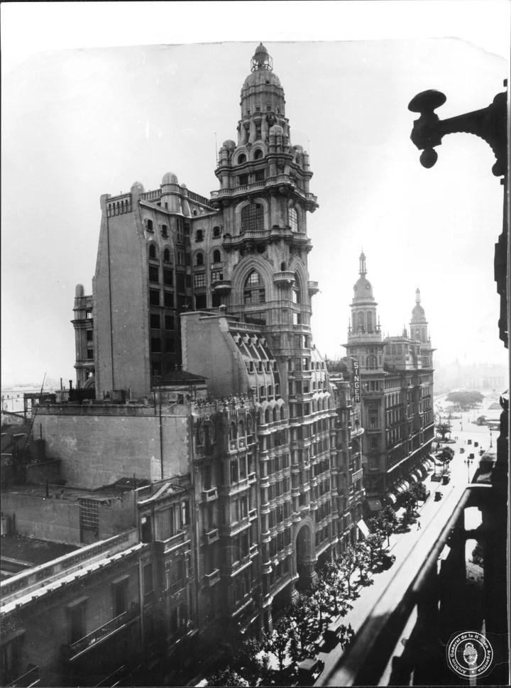 El Palacio Barolo en sus primeros años. Foto:  Archivo General de la Nación
