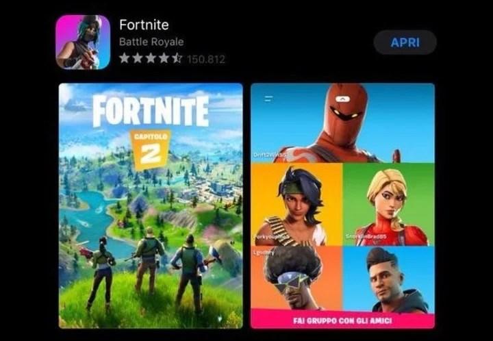 Fortnite, el videojuego más popular de Epic Games.
