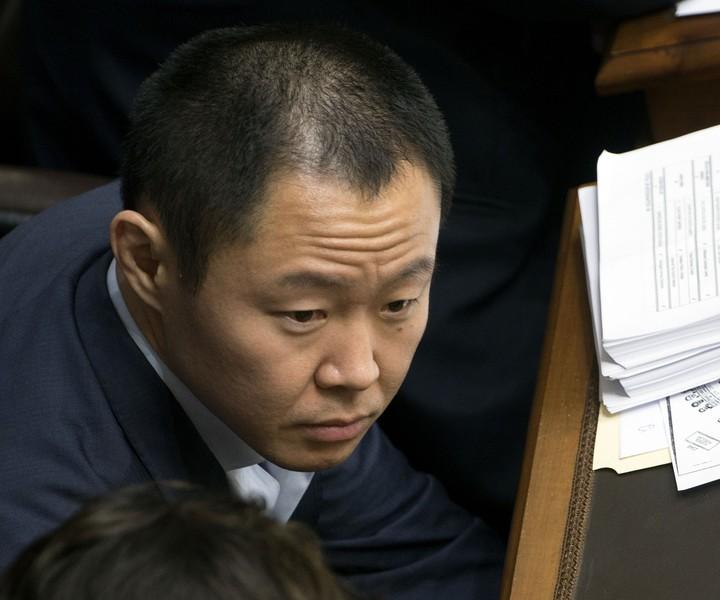 Kemji Fujimori, Keiko's brother, may try to take his place as the leader of Fujimori.  AFP photo