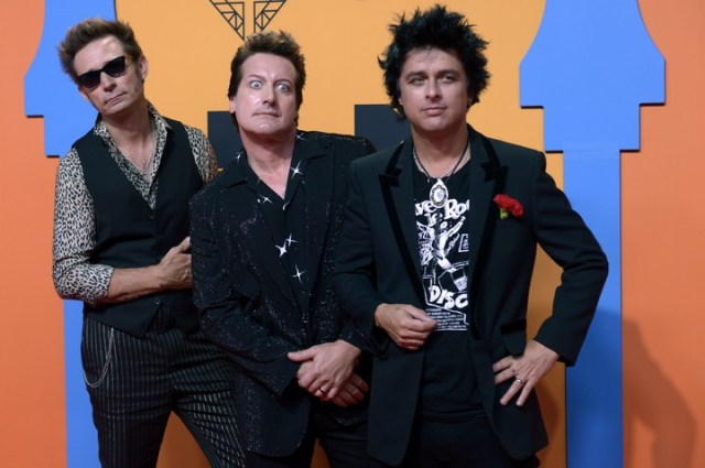"""Se acabó la fiesta"". La consigna del nuevo material de Green Day. (Foto: CRISTINA QUICLER / AFP)"