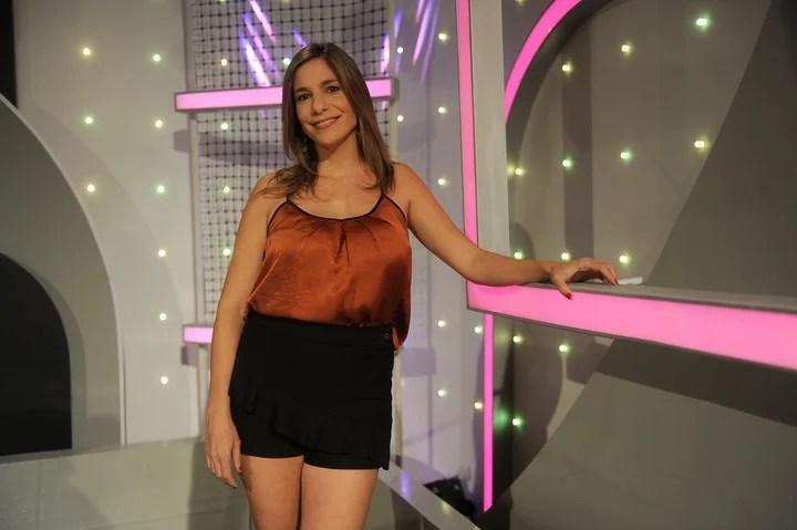 Angela Lerena. Una de las periodistas más destacadas por sus coberturas de la Superliga. Foto/ Alfredo Martinez