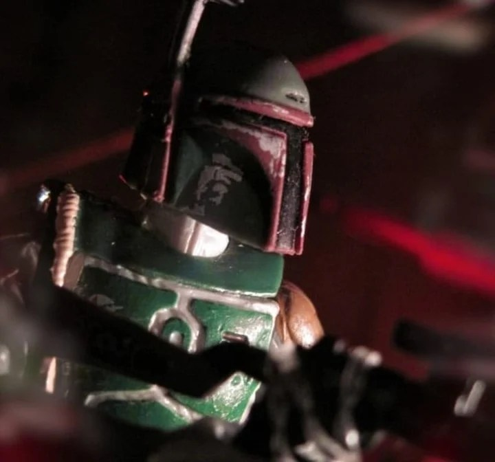 Boba Fett, the expected character for the second part of The Mandalorian