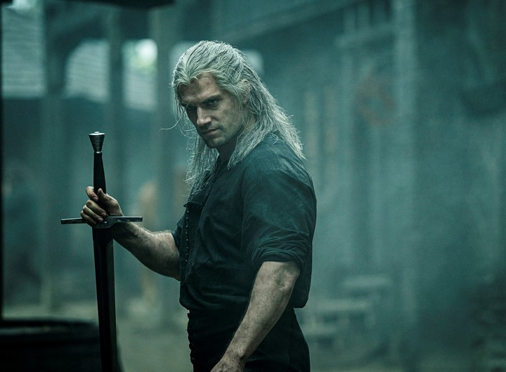 "Henry Cavill en ""The Witcher"". Foto/AP"