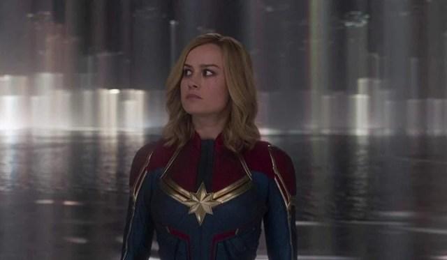"""Brie Larson es la superheroína """"Capitana Marvel"""", aunque bajo una nueva dirección."""