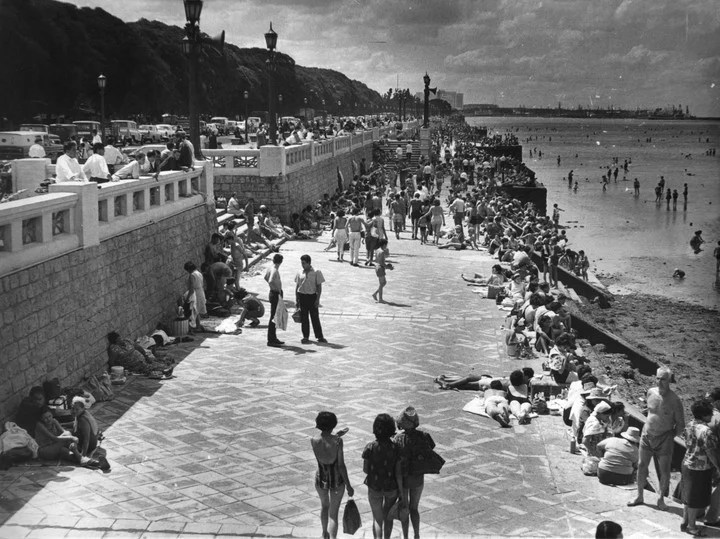 The Costanera Sur spa, around the 70s.
