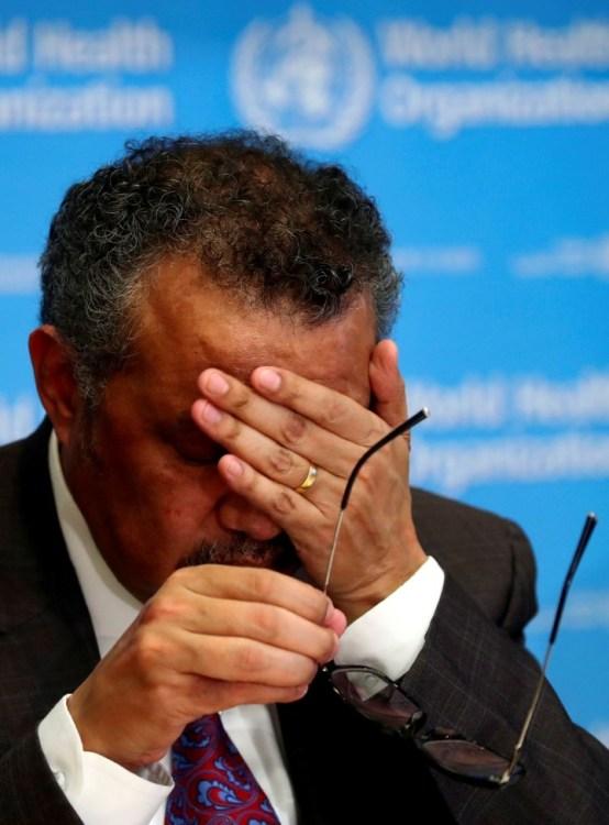 El Director General de la OMS, Tedros Adhanom Ghebreyesus./ Reuters
