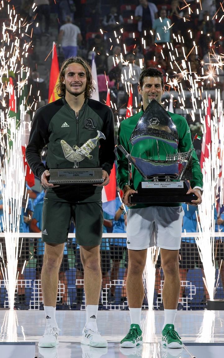 Novak Djokovic ganó el título ATP 500 de Dubai