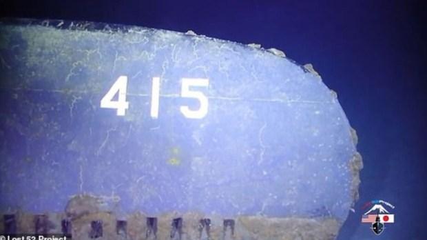 El submarino se estrelló contra el destructor USS Silverstein y su destino quedó sellado (Lost 52).