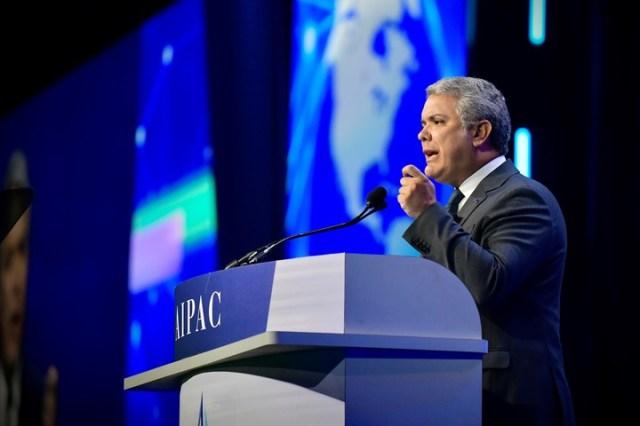 Iván Duque,presidente de Colombia. /EFRAÍN HERRERA/DPA/