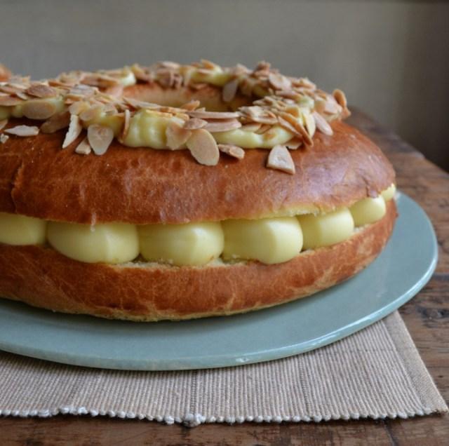 Receta de rosca de Pascua con masa brioche (Foto: Cocu Boulangerie)