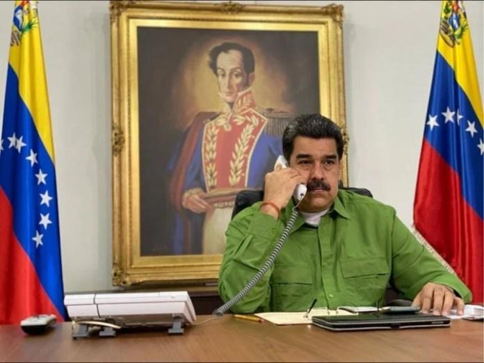El presidente de Venezuela, Nicolás Maduro, denunció un intento de golpe de Estado en su contra. /DPA