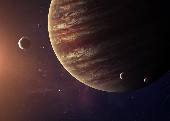 """""""Las alineaciones entre estos dos planetas son bastante raras"""". /Shutterstock"""
