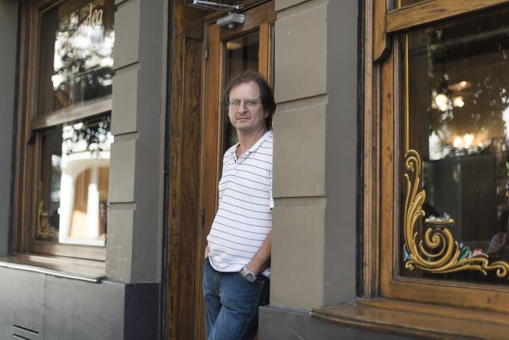 Martin Kohan es autor de novelas como Dos veces junio, Ciencias morales y la reciente Confesión. Foto: Andres D'Elia.