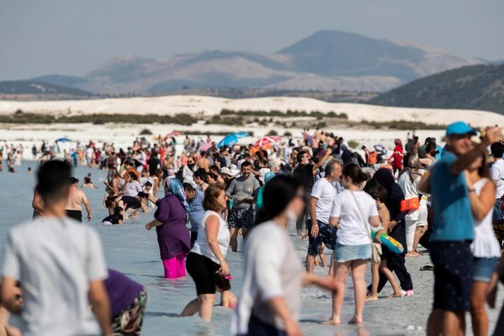 In 2019, there were 1.5 million visitors and in 2020, despite the pandemic, 800,000.  Photo EFE / EPA / TOLGA BOZOGLU