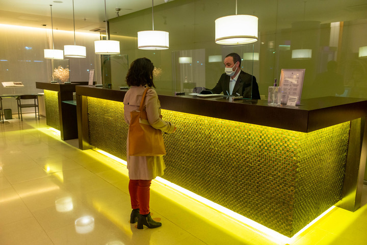 The hotel industry is badly hit by the ban on foreign tourists.  Photo: Rafael Mario Quinteros.