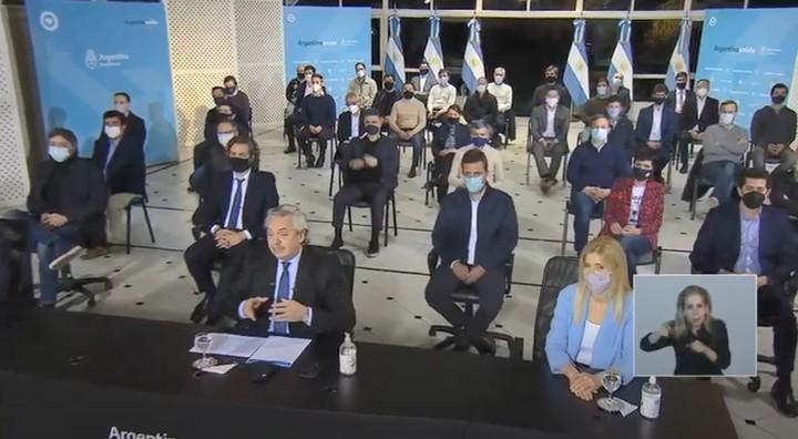 Alberto Fernández anunció el recorte de la coparticipación de la Ciudad de Buenos Aires, medida impulsada por Cristina Kirchner.