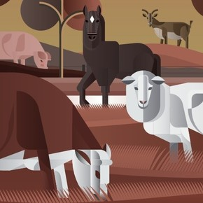 Radiografía de la ganadería argentina: qué especies y razas,cuánto y dónde
