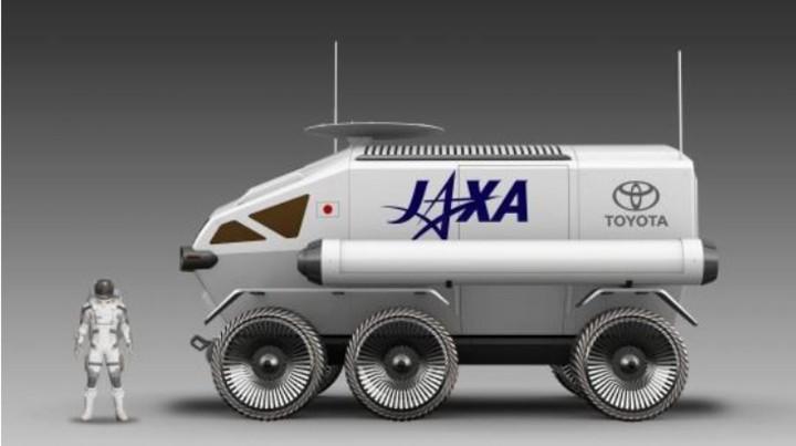 El vehículo llevará a cabo una misión de exploración espacial en el satélite de nuestro planeta (Toyota).