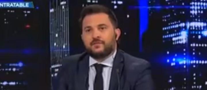 """Diego Brancatelli hizo una crítica a la gestión de Alberto Fernández por la constante suba del dolar. """"Ya basta..."""", tiró."""