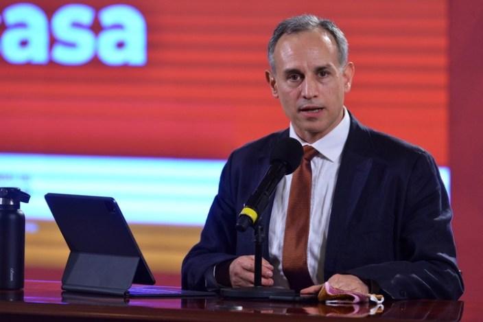 Hugo López Gatell, subsecretario de Prevención y Promoción de la Salud de México. Foto: Xinhua/Str