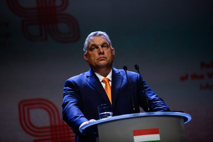 Viktor Orban, President of Hungary, became the first president of a European Union country to make the list.  Photo Omar Marques / Getty Images